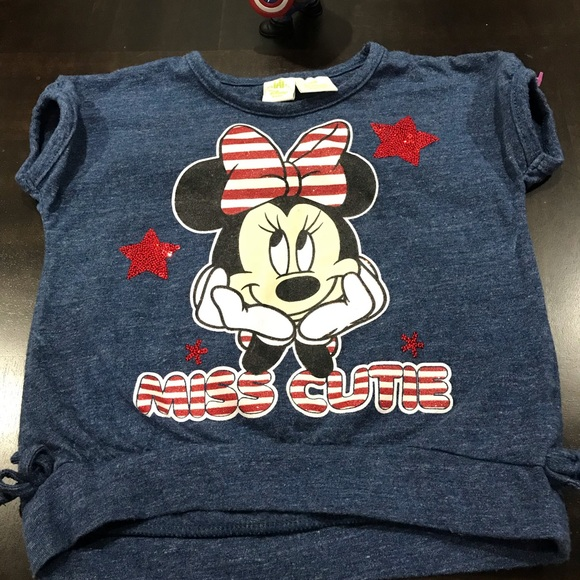 Disney Other - Disney Minnie Mouse Shirt Size 18 M